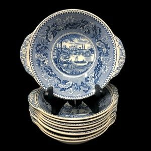 Johnson Bros Historic America Soup Cereal Bowls